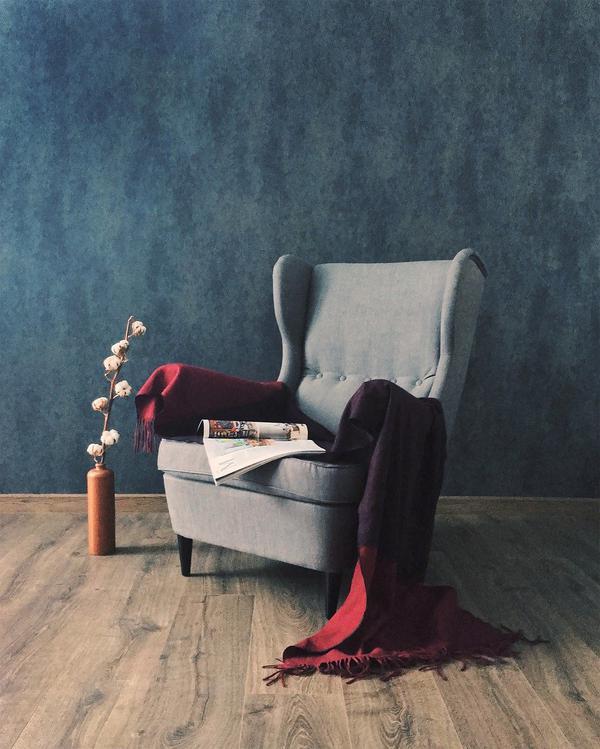 fotel muszelka